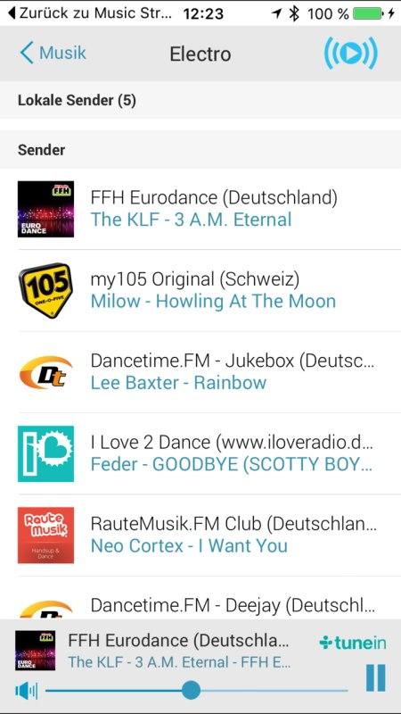Panasonic Music Streaming App 17