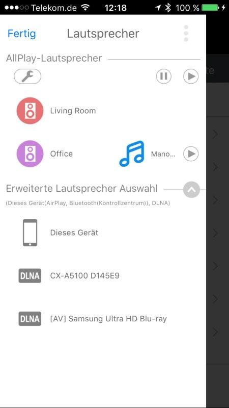 Panasonic Music Streaming App 5