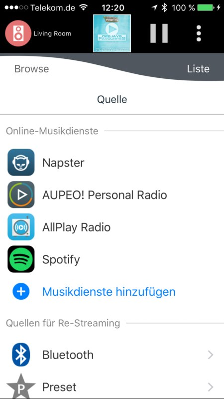 Panasonic Music Streaming App 8