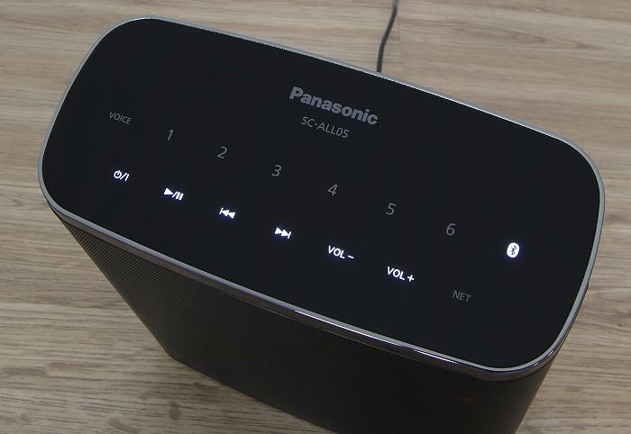 Panasonic SC-ALL05 Bedienelemente Oberseite
