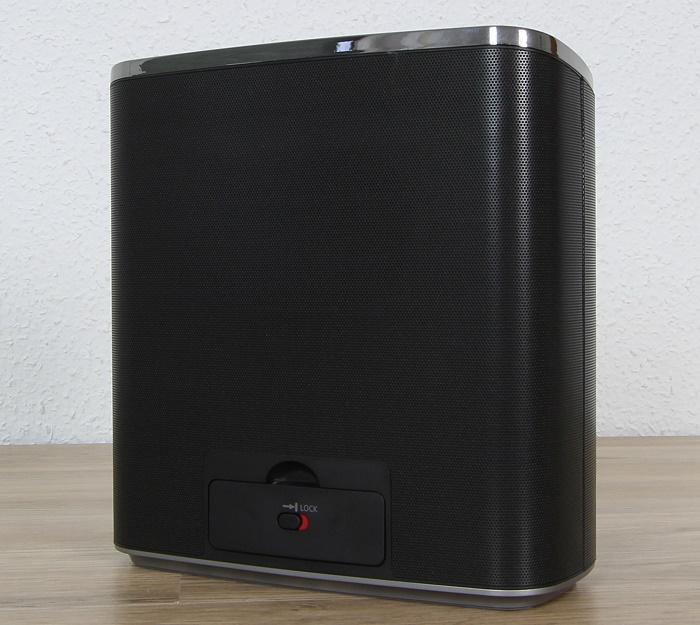 Panasonic SC-ALL05 Rueckseite Seitlich