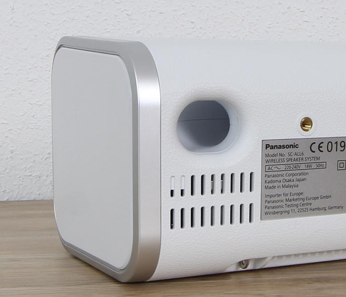 Panasonic SC-ALL6 Bassreflexoeffnung