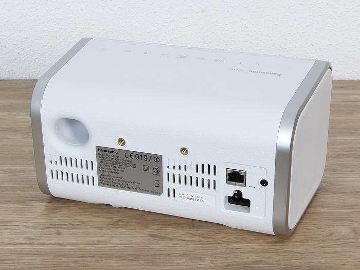 Panasonic SC-ALL6 Rueckseite Seitlich