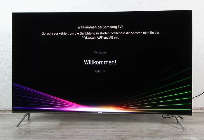 Samsung UE55KS7590U Front Seitlich1