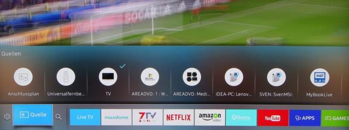 Samsung UE55KS7590U Screenshot 12