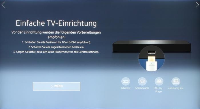 Samsung UE55KS7590U Screenshot 3