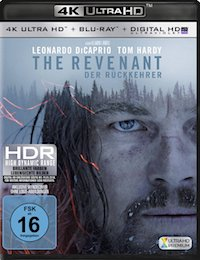 The Revenant Ultra HD Blu-ray