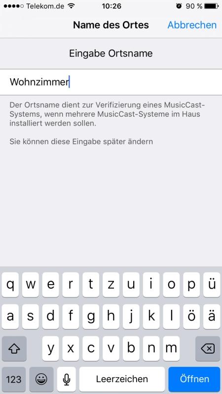 Yamaha MusicCast App 3