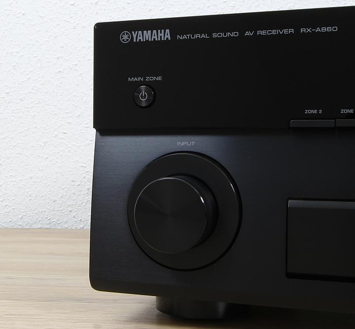 Yamaha RX-A860 Bedienelemente Front2