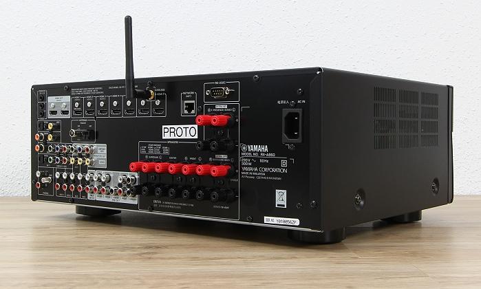 Yamaha RX-A860 Rueckseite Seitlich