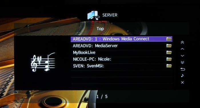 Yamaha RX-A860 Screenshot 24