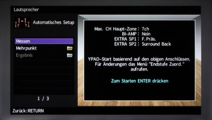 Yamaha RX-A860 Screenshot 3