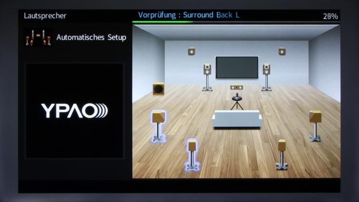 Yamaha RX-A860 Screenshot 5