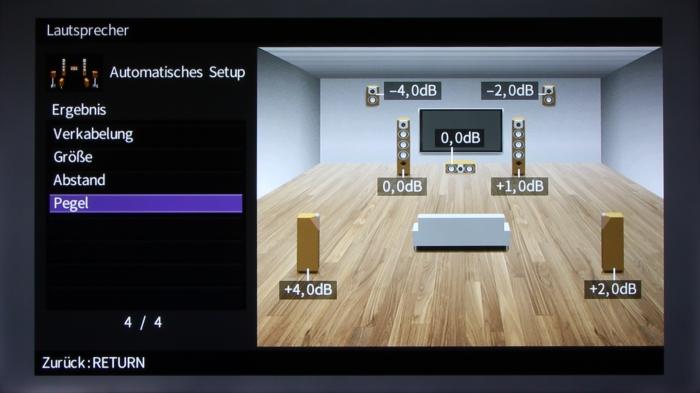 Yamaha RX-A860 Screenshot 9