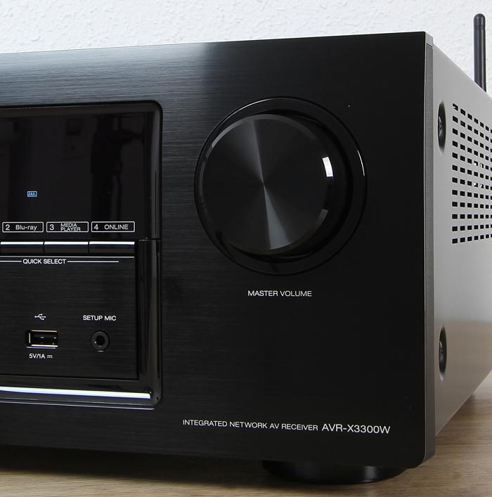Denon AVR-X3300W Bedienelemente Front1