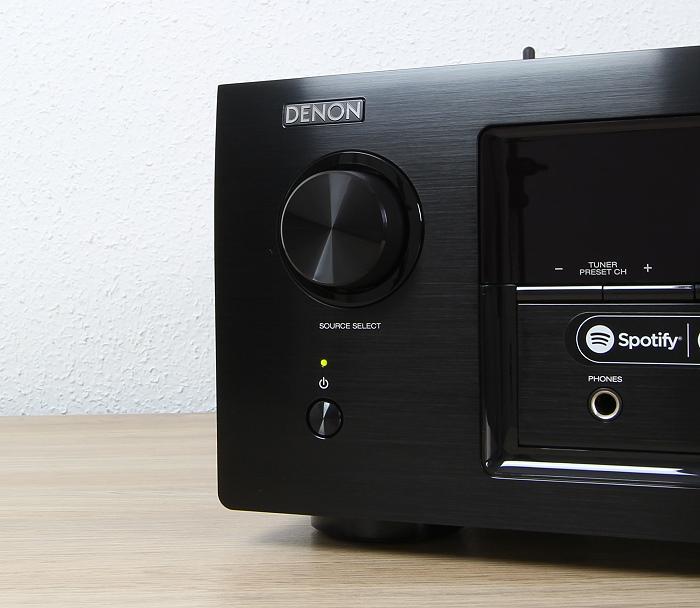 Denon AVR-X3300W Bedienelemente Front2