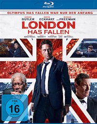 London Has Fallen Blu-ray Disc