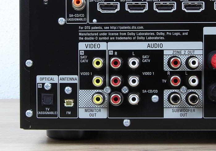 Sony STR-DN1070 Anschluesse Rueckseite2