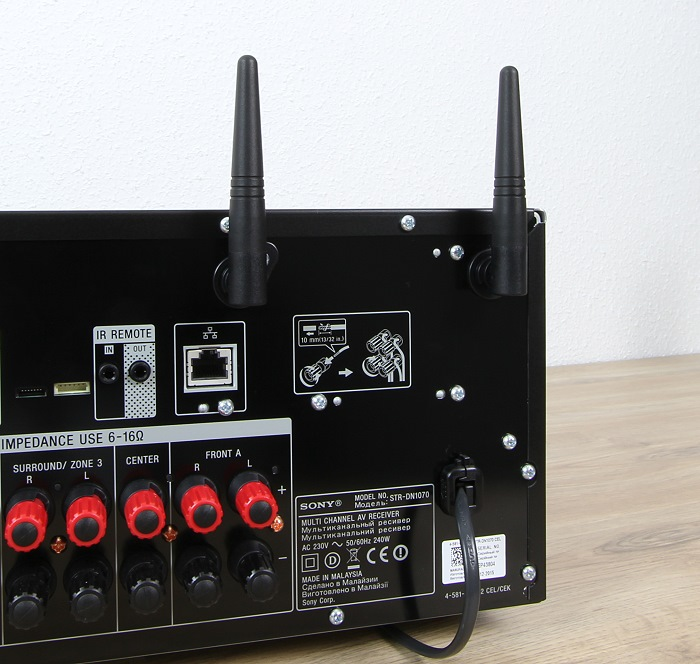 Sony STR-DN1070 Antennen