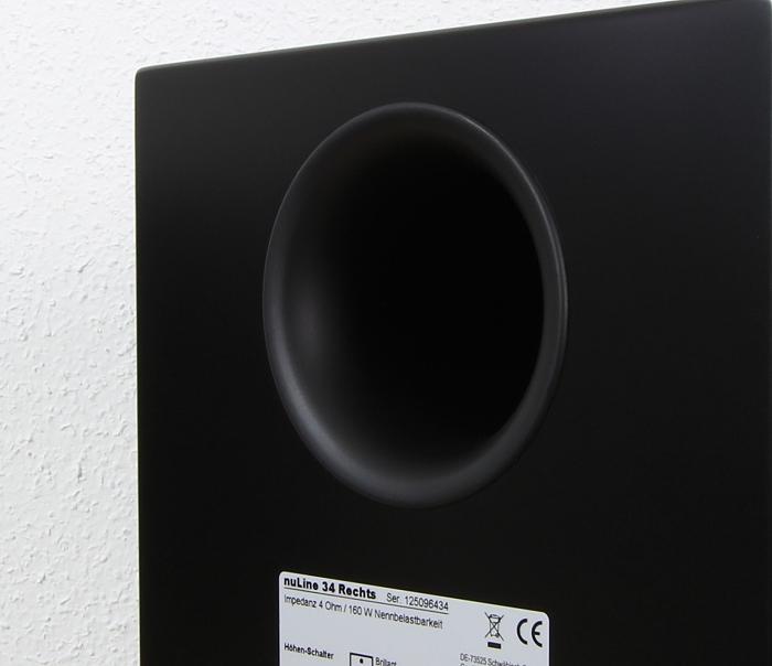 Nubert nuLine Set 2016 nuLine 34 Bassreflexrohr