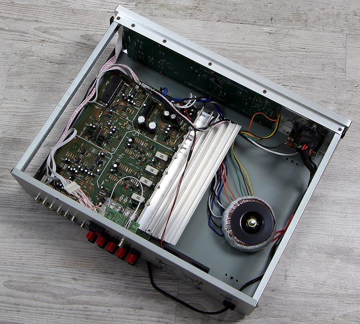 Auna AMP-5100 Innenleben Gesamt