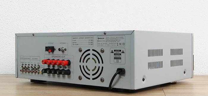 Auna AMP-5100 Rueckseite Seitlich