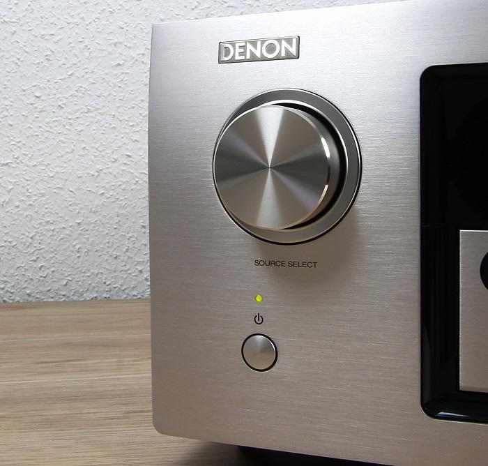 Denon AVR-X4300H Bedienelemente Front2