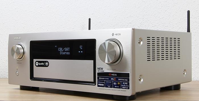 Denon AVR-X4300H Front Seitlich2