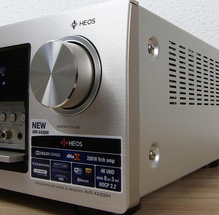 Denon AVR-X4300H Verarbeitung