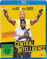 Central Intelligence Blu-ray Disc