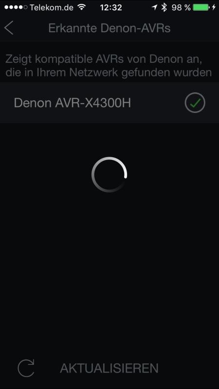 Denon AVR-X4300H App 1
