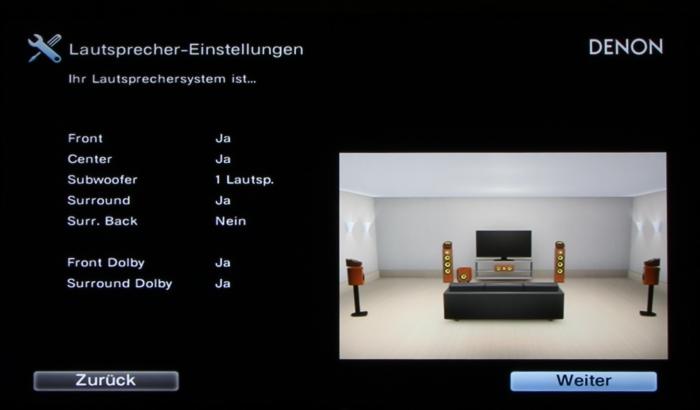 Denon AVR-X4300H Screenshot 10