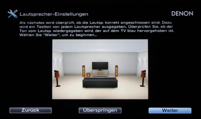 Denon AVR-X4300H Screenshot 11