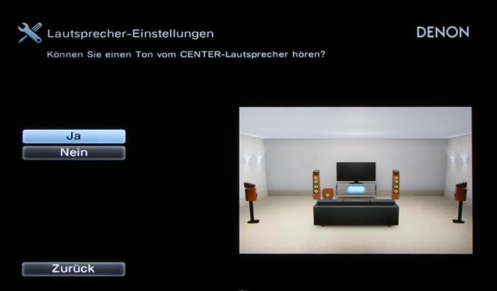Denon AVR-X4300H Screenshot 13
