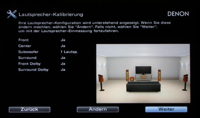 Denon AVR-X4300H Screenshot 15