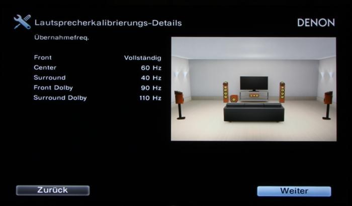 Denon AVR-X4300H Screenshot 21