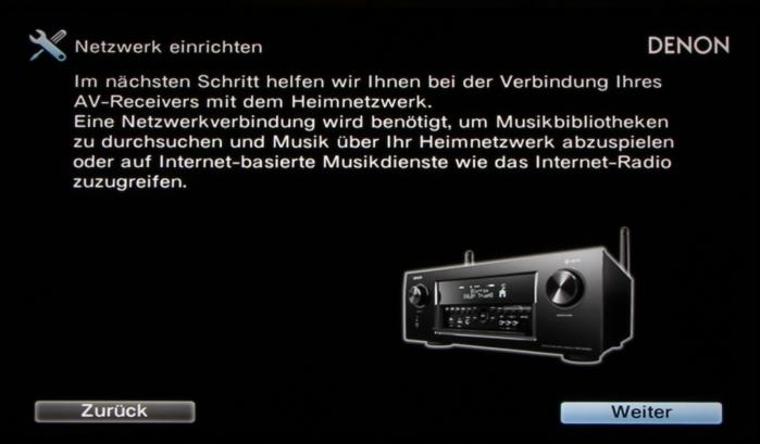Denon AVR-X4300H Screenshot 22