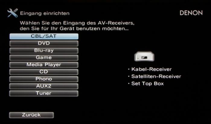 Denon AVR-X4300H Screenshot 25