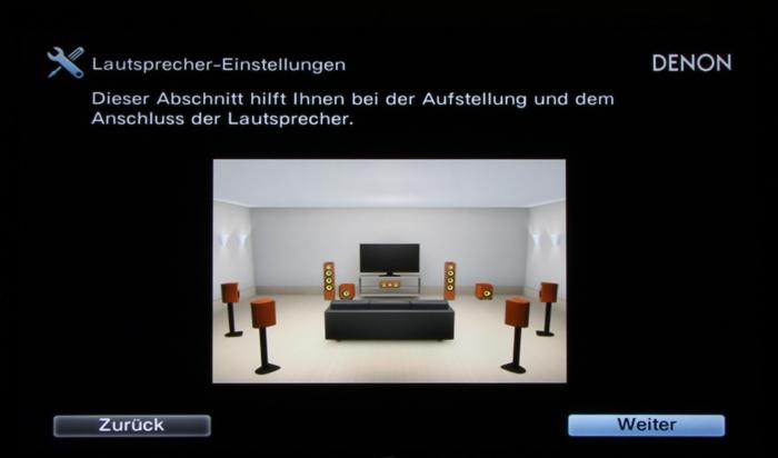 Denon AVR-X4300H Screenshot 3