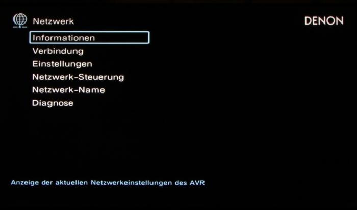 Denon AVR-X4300H Screenshot 30