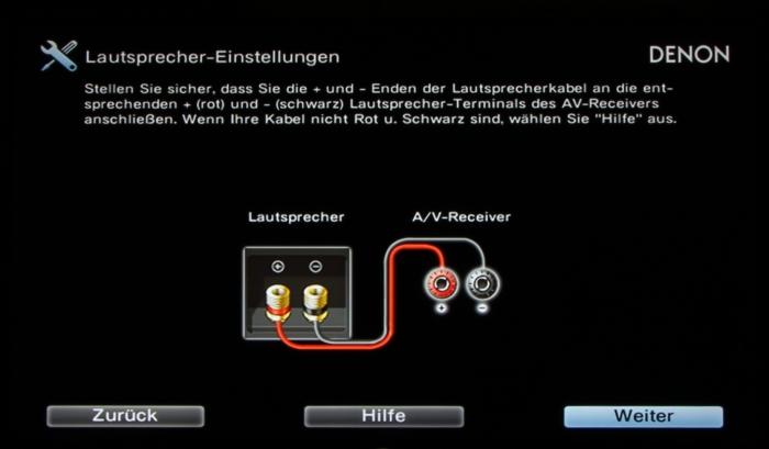 Denon AVR-X4300H Screenshot 5