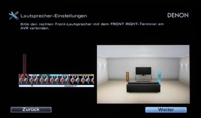 Denon AVR-X4300H Screenshot 6
