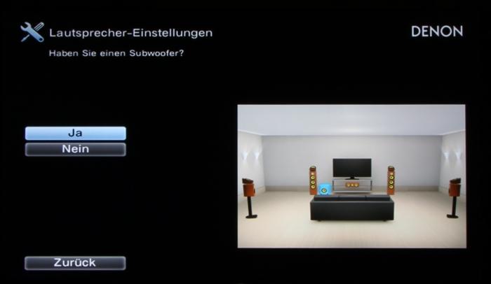 Denon AVR-X4300H Screenshot 9