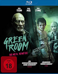 Green Room Blu-ray Disc