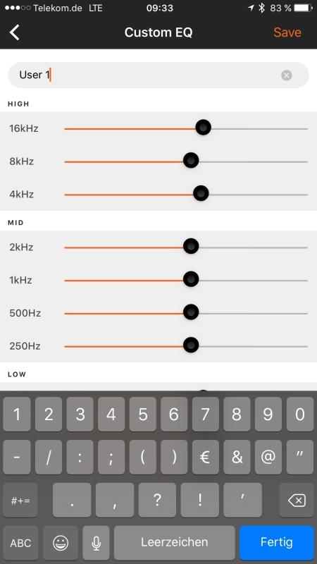 JBL Reflect Aware App 5