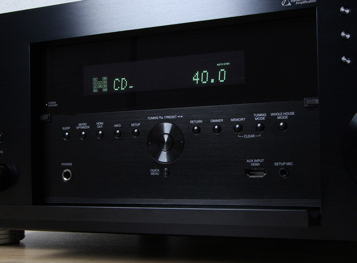 Onkyo-TX-RZ3100-Bedienelemente-Frontklappe
