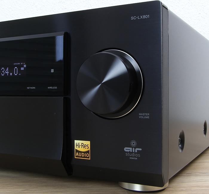 Pioneer SC-LX801 Bedienelemente Front1