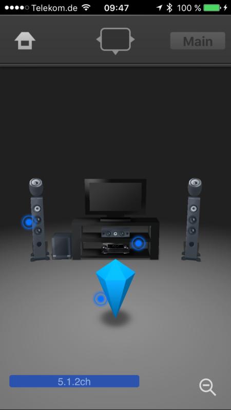 Pioneer SC-LX801_App_Status