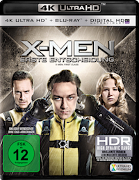 X-Men - Erste Entscheidung Ultra HD Blu-ray