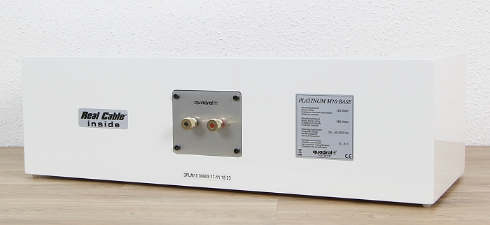 Quadral Platinum M10 Base Rueckseite Seitlich